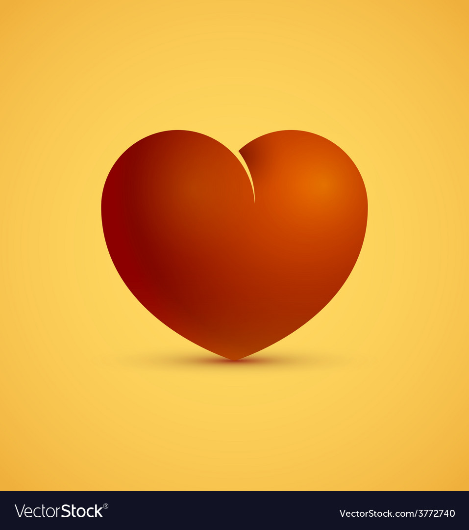 Icon of red heart vector   Price: 1 Credit (USD $1)