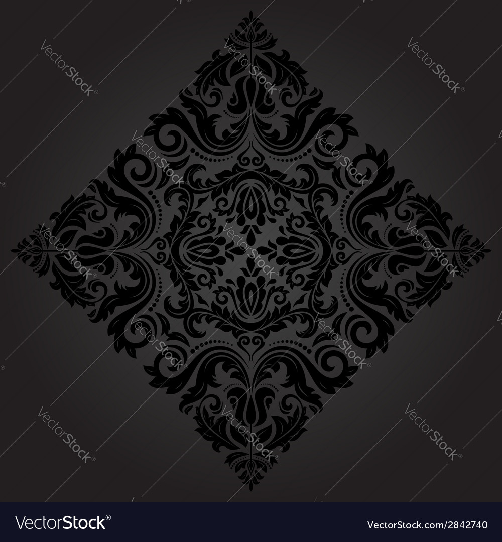 Orient ornamental round lace vector | Price: 1 Credit (USD $1)