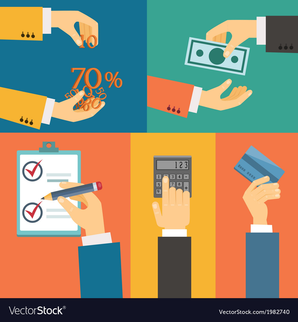 Purchase payment credit vector | Price: 1 Credit (USD $1)
