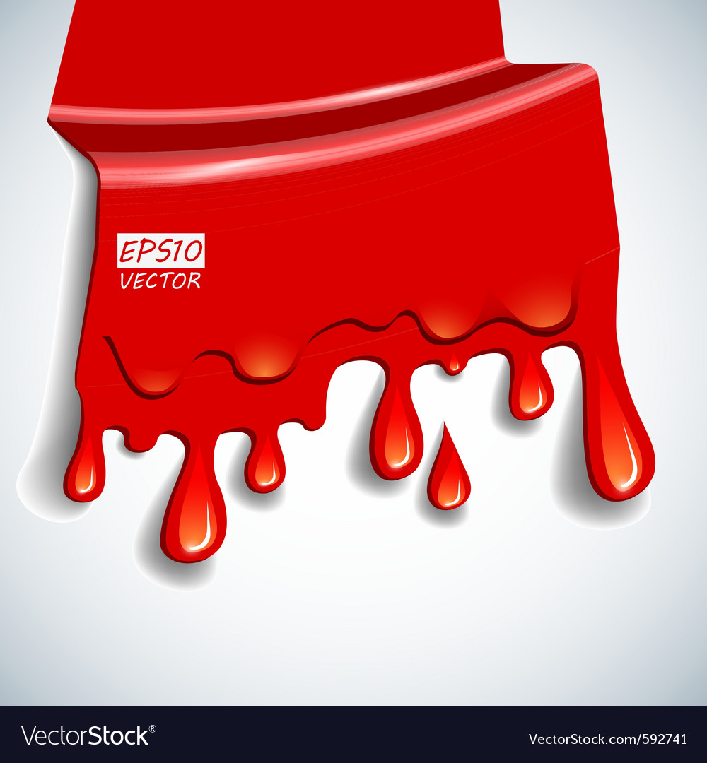 Blood background vector | Price: 1 Credit (USD $1)