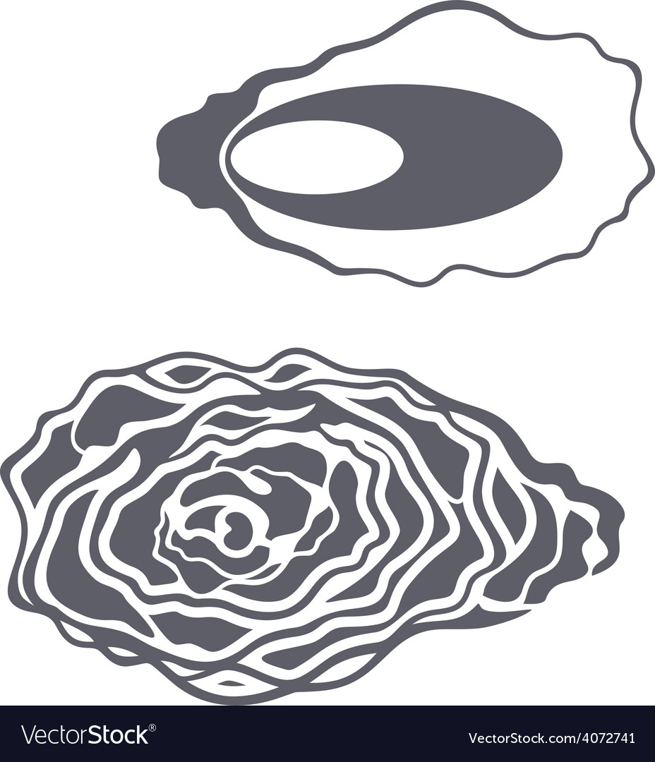 Oyster vector | Price: 1 Credit (USD $1)