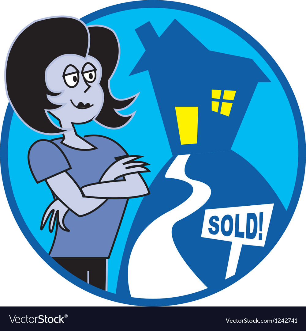 Realtor sold vector | Price: 1 Credit (USD $1)