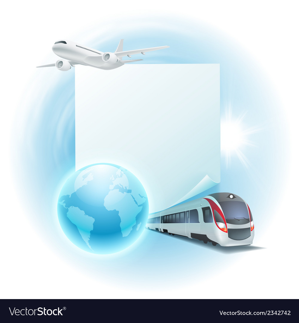 Concept travel vector | Price: 1 Credit (USD $1)