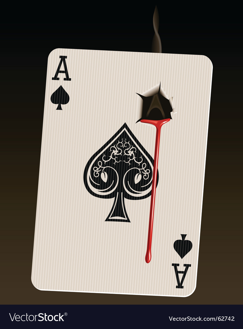 Death card bleeding vector | Price: 3 Credit (USD $3)