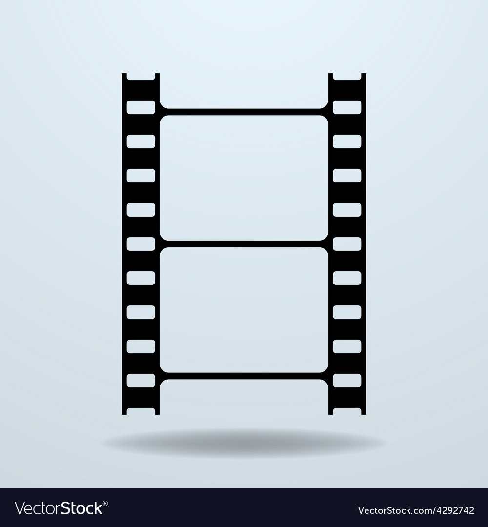 Icon of film frame cinema film vector | Price: 1 Credit (USD $1)