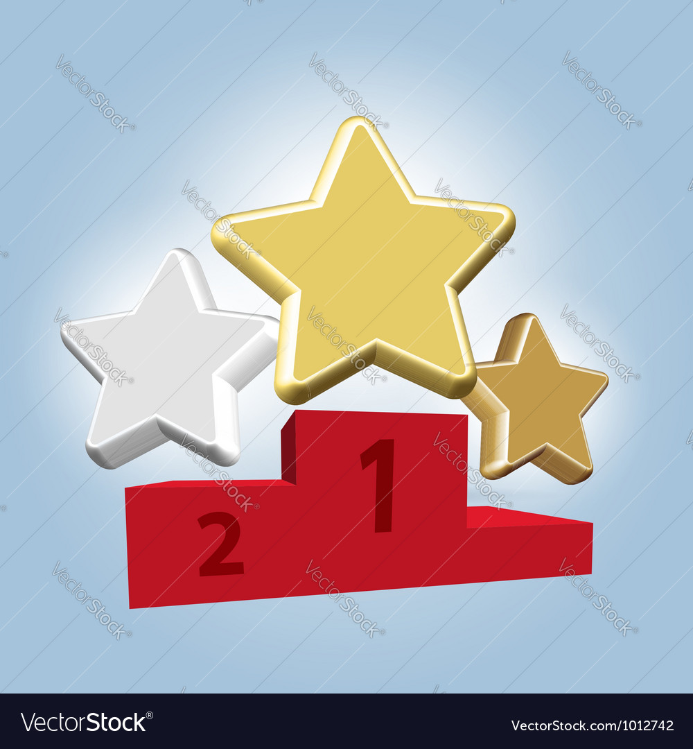 Stars awards vector | Price: 1 Credit (USD $1)