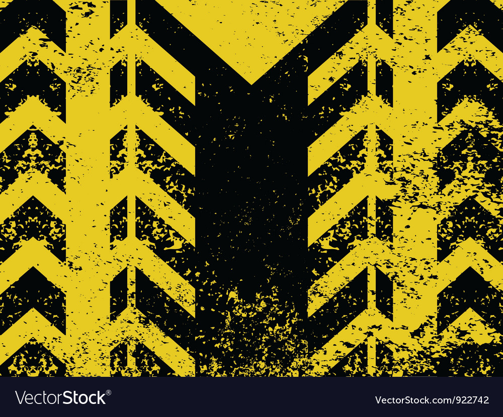 Worn hazard stripes vector | Price: 1 Credit (USD $1)