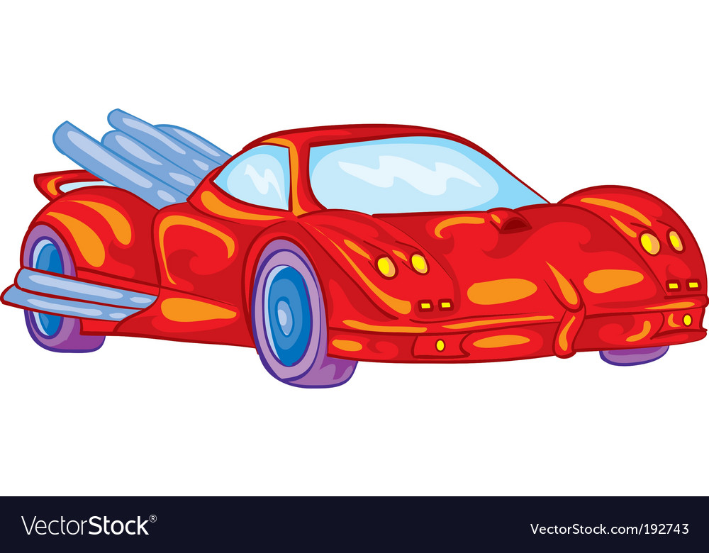 Automobile vector | Price: 1 Credit (USD $1)