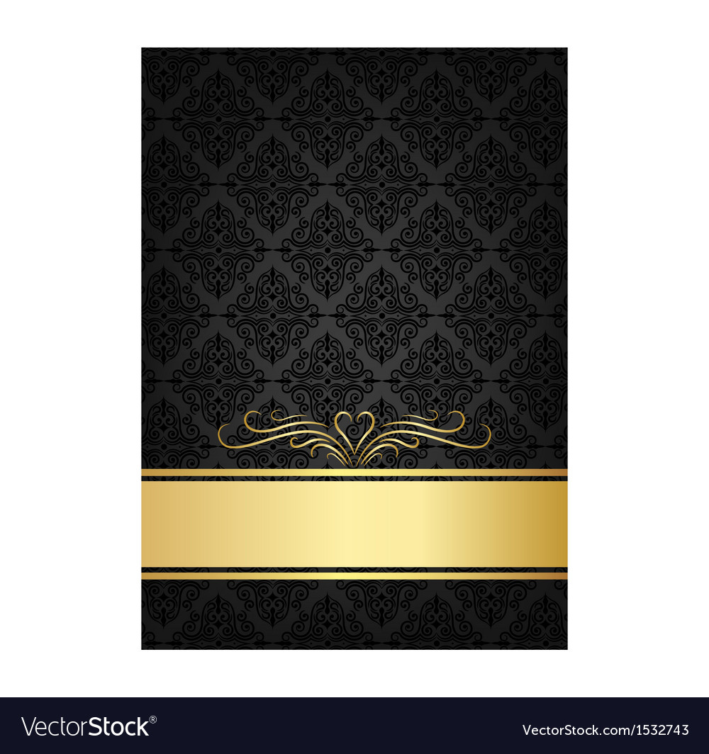 Black celebrate card vector | Price: 1 Credit (USD $1)