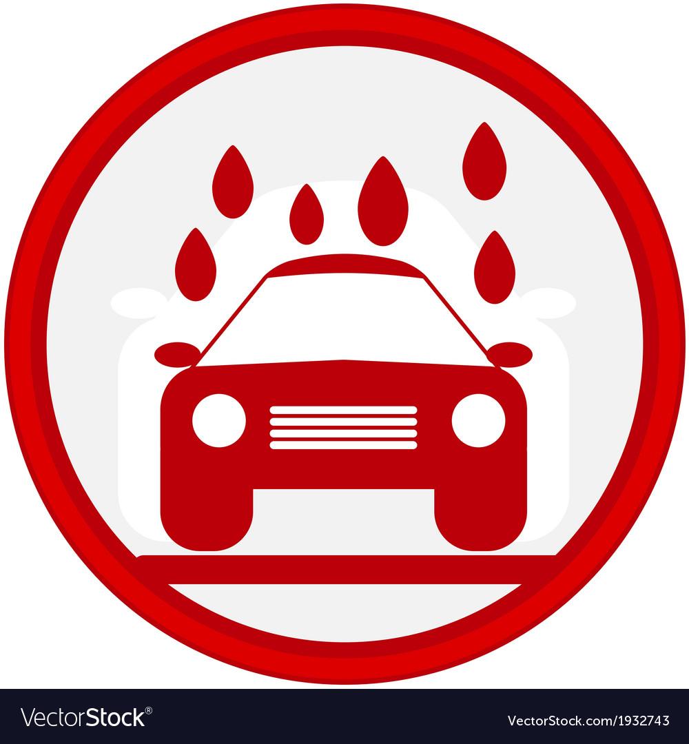 Car service icon vector   Price: 1 Credit (USD $1)