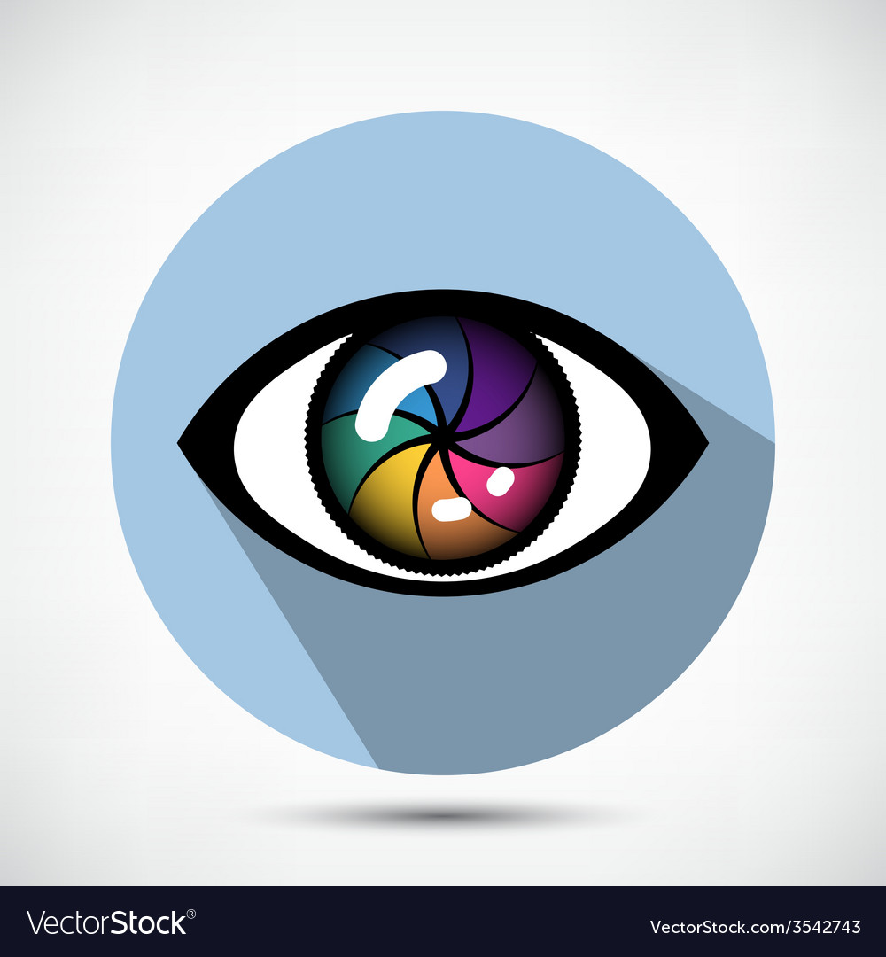 Cyber eye icon vector | Price: 1 Credit (USD $1)