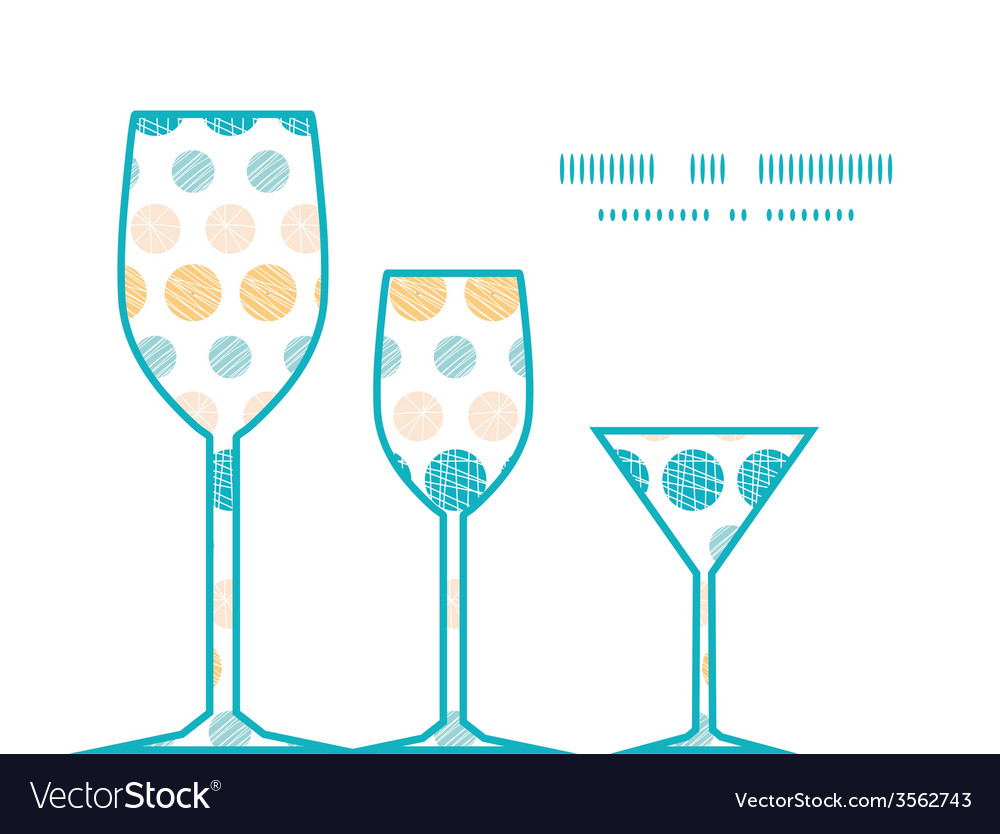 Texture circles stripes abstract three wine vector