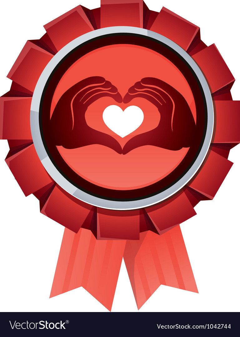 Award for charity organisation vector | Price: 1 Credit (USD $1)