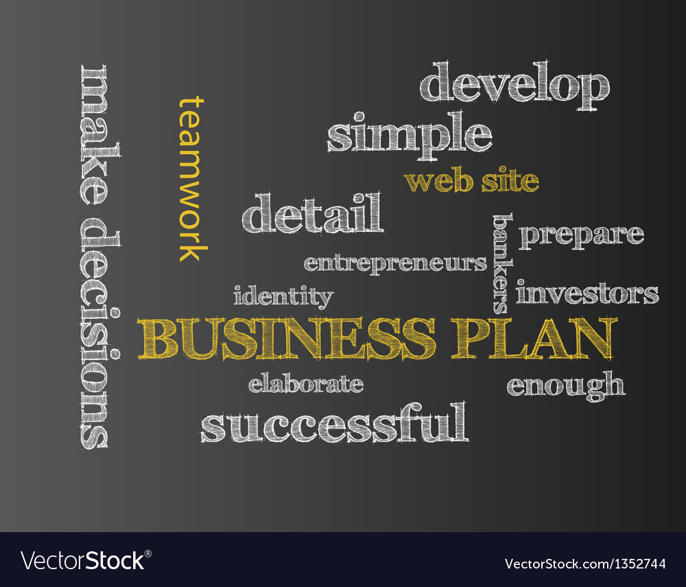Business plan vector | Price: 1 Credit (USD $1)