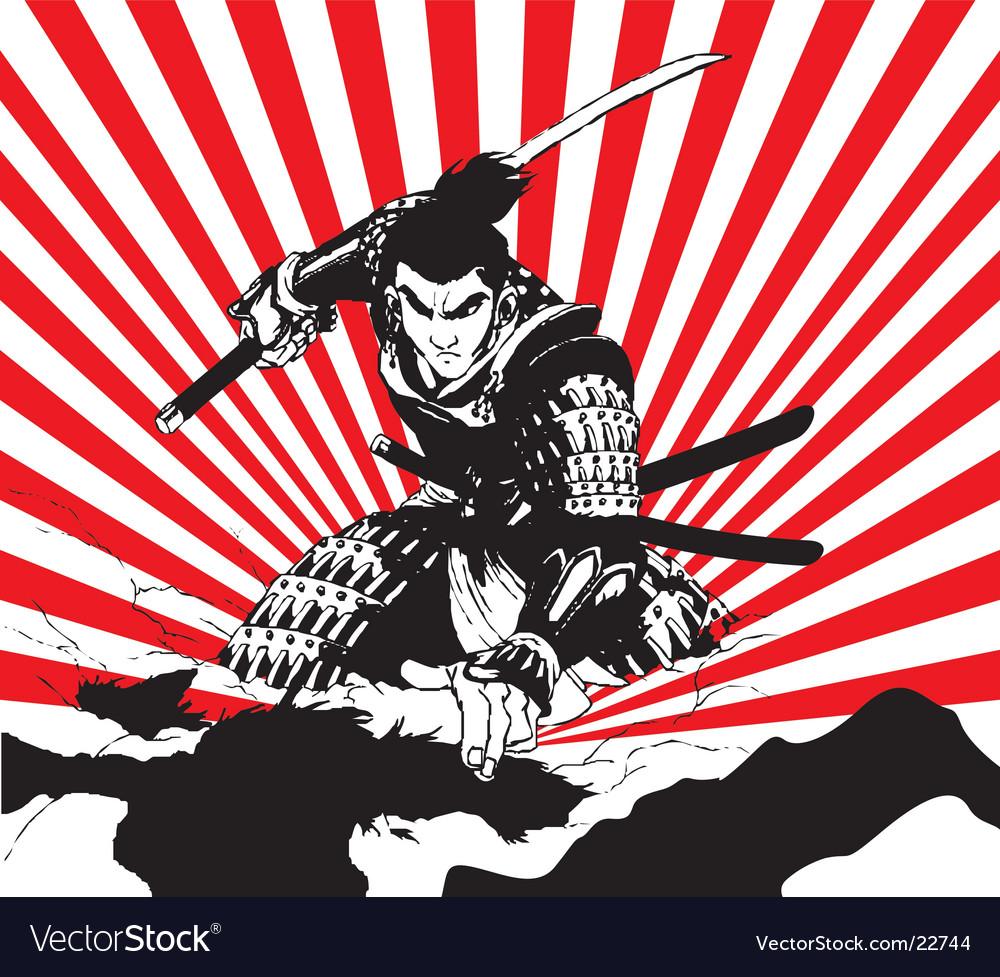 Samurai vector | Price: 3 Credit (USD $3)