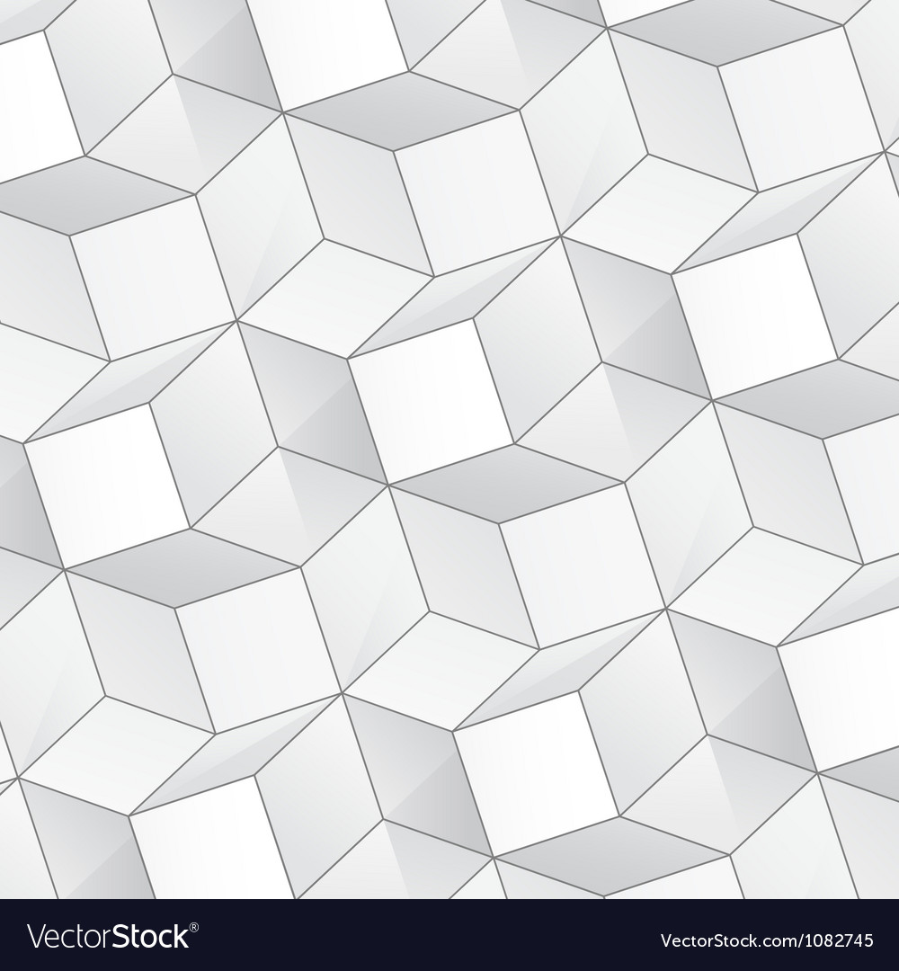 Abstract background with volume cubes vector | Price: 1 Credit (USD $1)