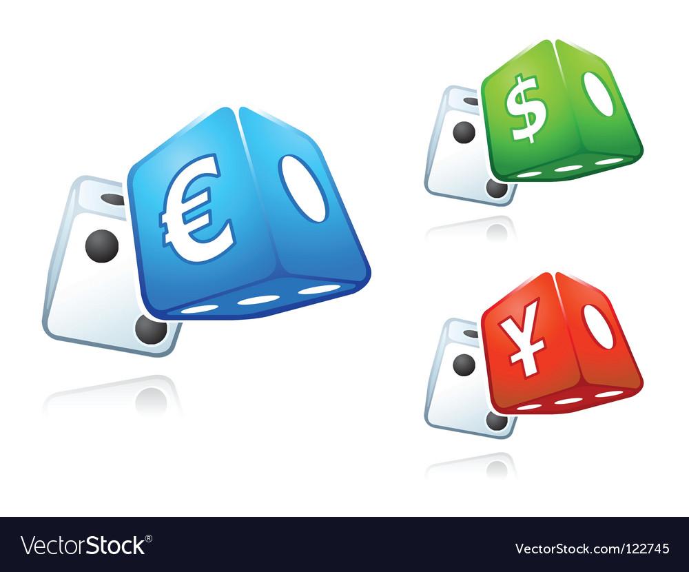 Cash dices vector | Price: 1 Credit (USD $1)