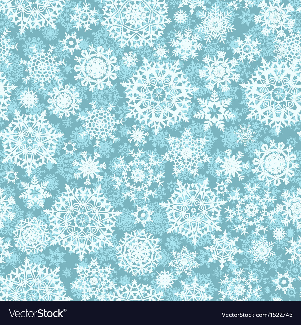 Christmas seamless pattern snowflake eps 10 vector | Price: 1 Credit (USD $1)