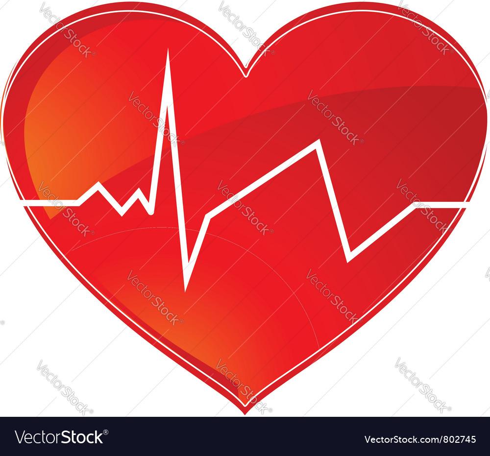 Hearth rhythm vector   Price: 1 Credit (USD $1)