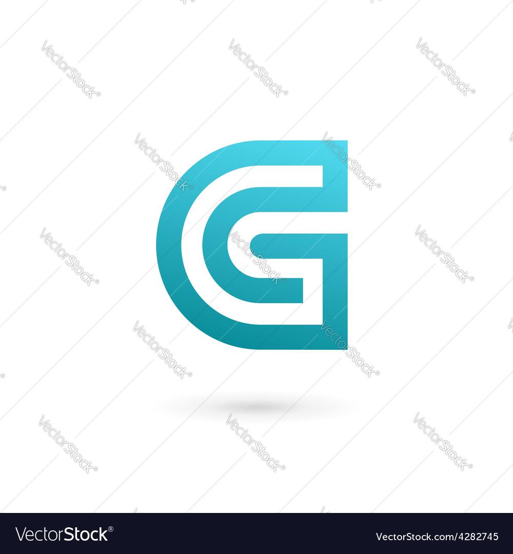 Letter g logo icon design template elements vector