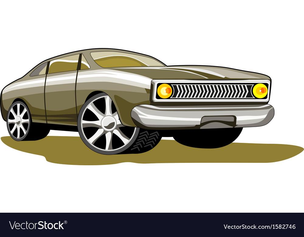 Ford fairmont car retro vector | Price: 1 Credit (USD $1)