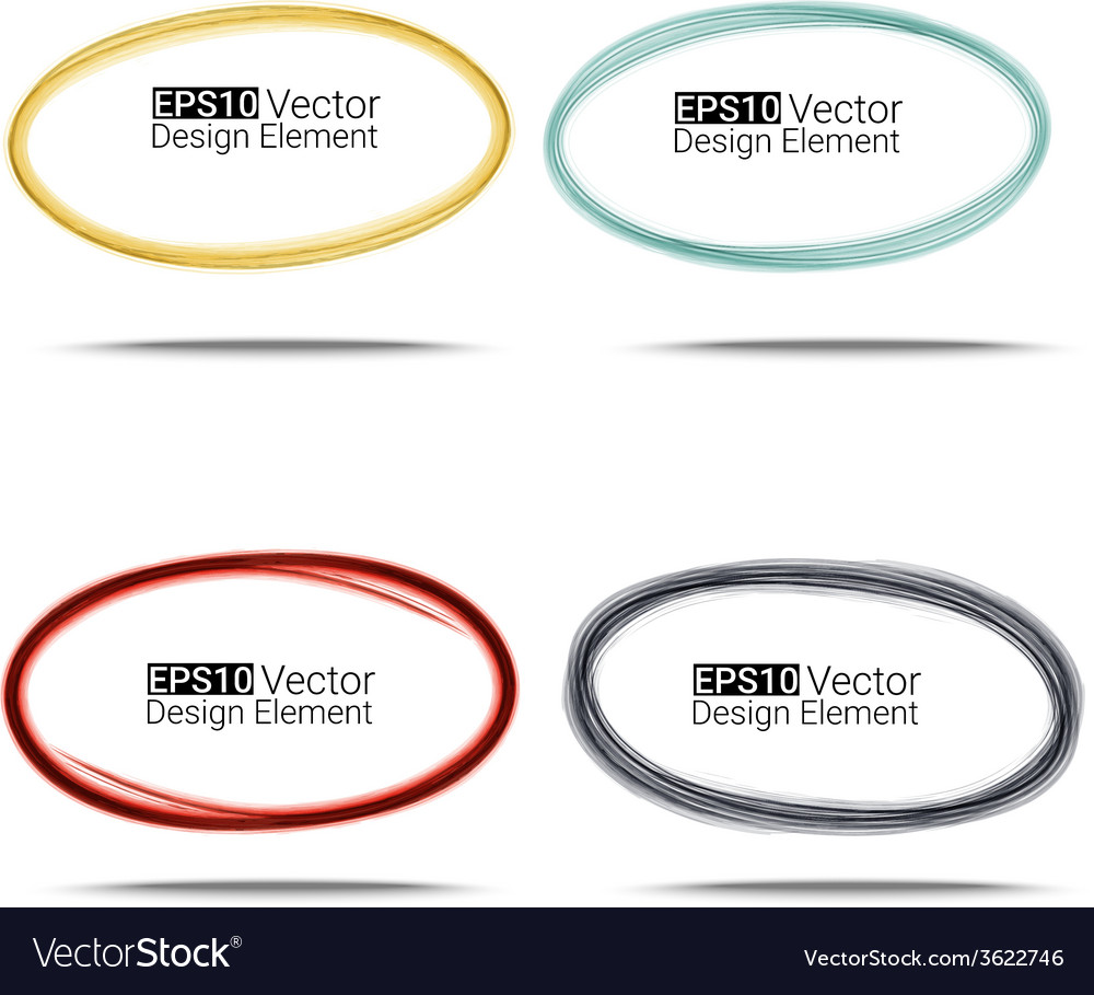 Watercolors ovals vector   Price: 1 Credit (USD $1)
