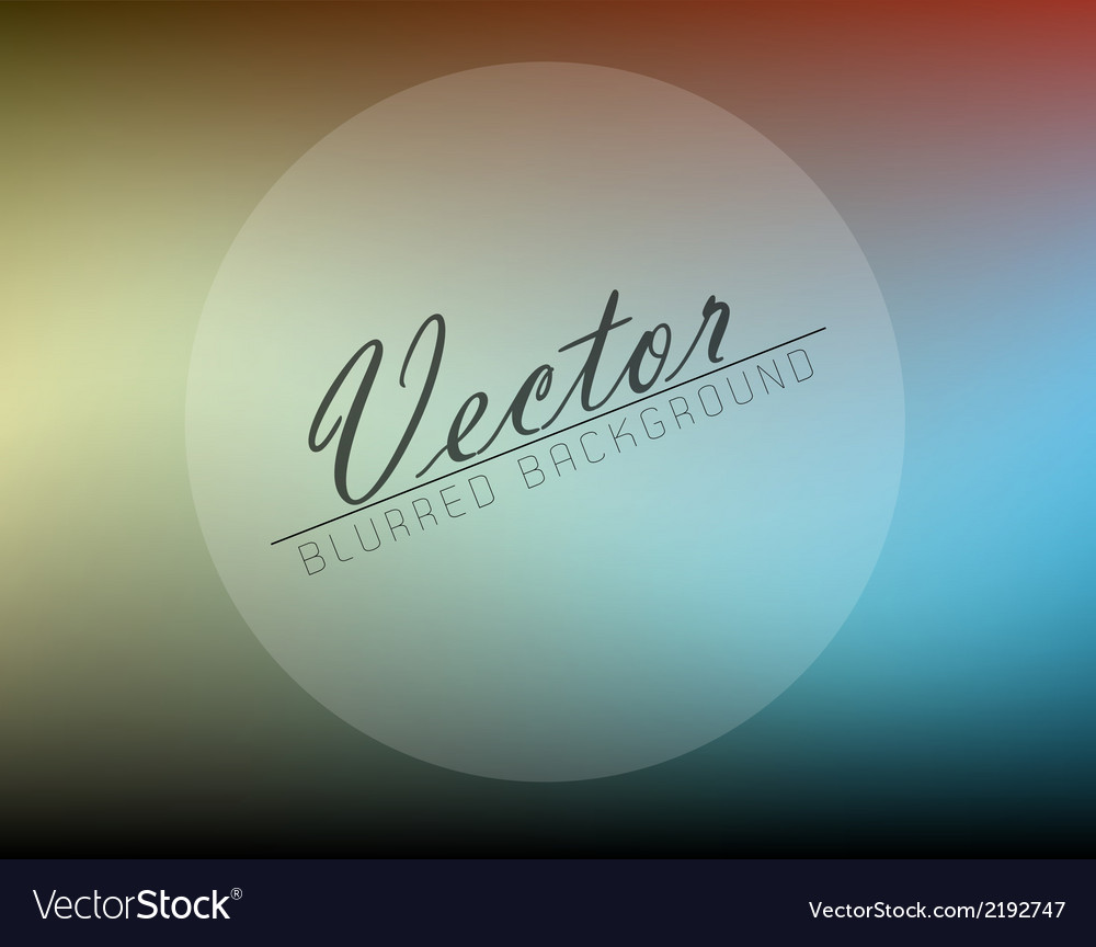 Abstract blurred background vector | Price: 1 Credit (USD $1)