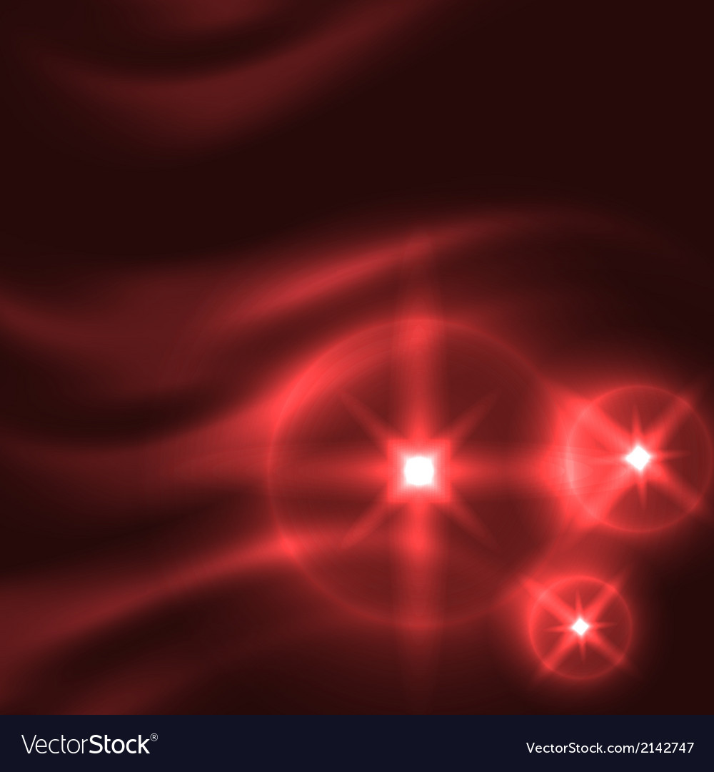 Abstract red background with glowing lines vector | Price: 1 Credit (USD $1)