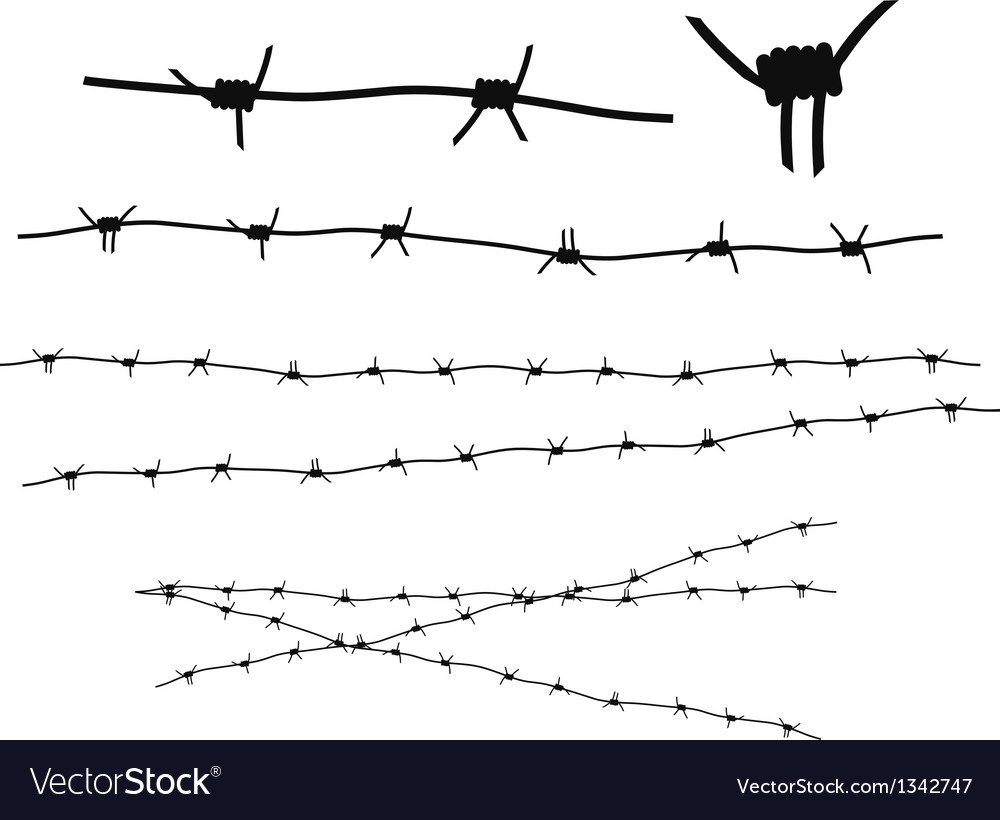 Barbed wire vector | Price: 1 Credit (USD $1)