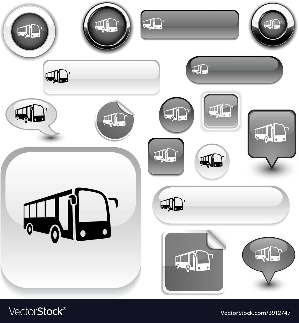 Bus signs vector | Price: 1 Credit (USD $1)