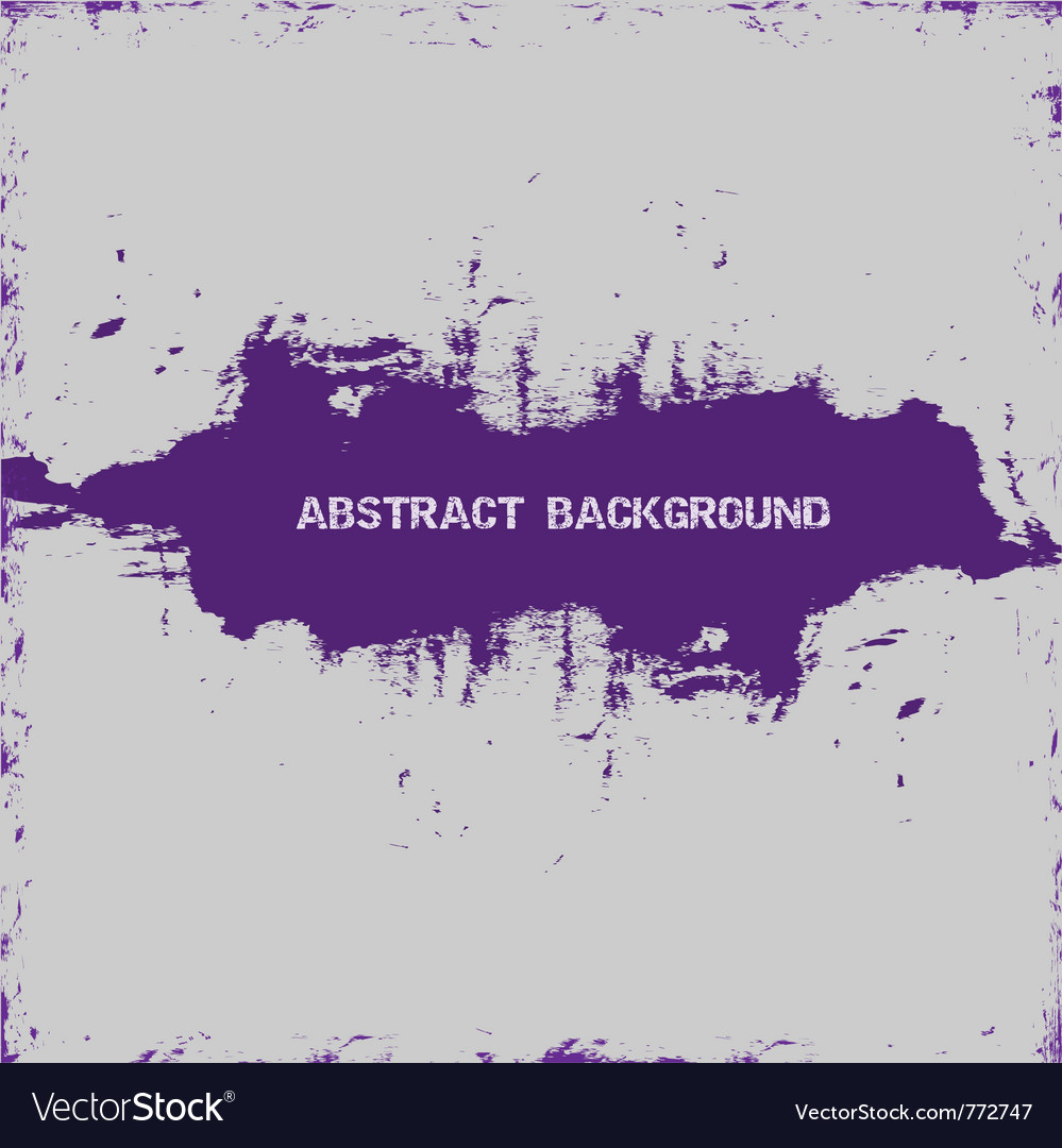 Violet paint abstract vector | Price: 1 Credit (USD $1)