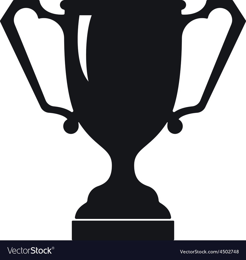 Ancient trophy cup icon vector | Price: 1 Credit (USD $1)
