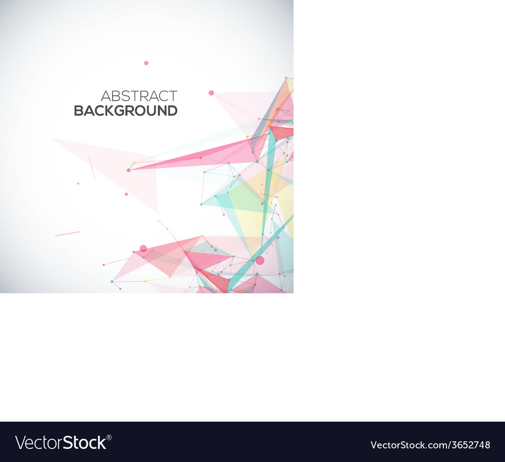 Geometric background with polygonal abstract vector | Price: 1 Credit (USD $1)
