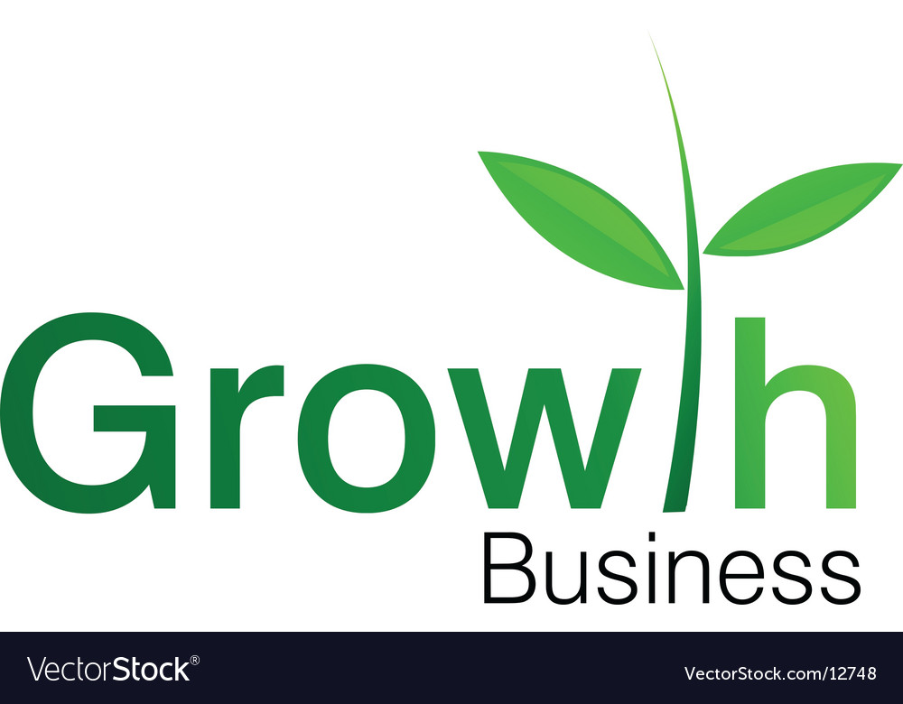 Growth symbol vector | Price: 1 Credit (USD $1)