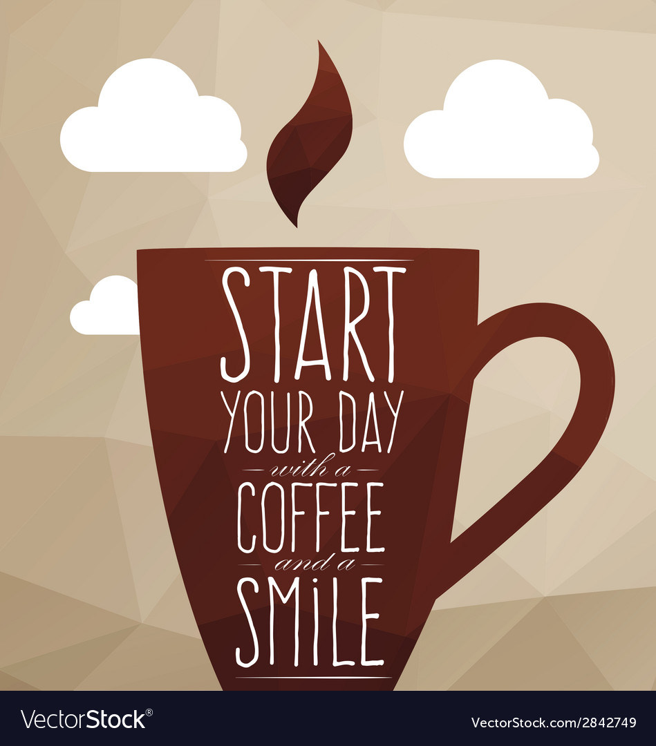 A large cup of coffee vector | Price: 1 Credit (USD $1)