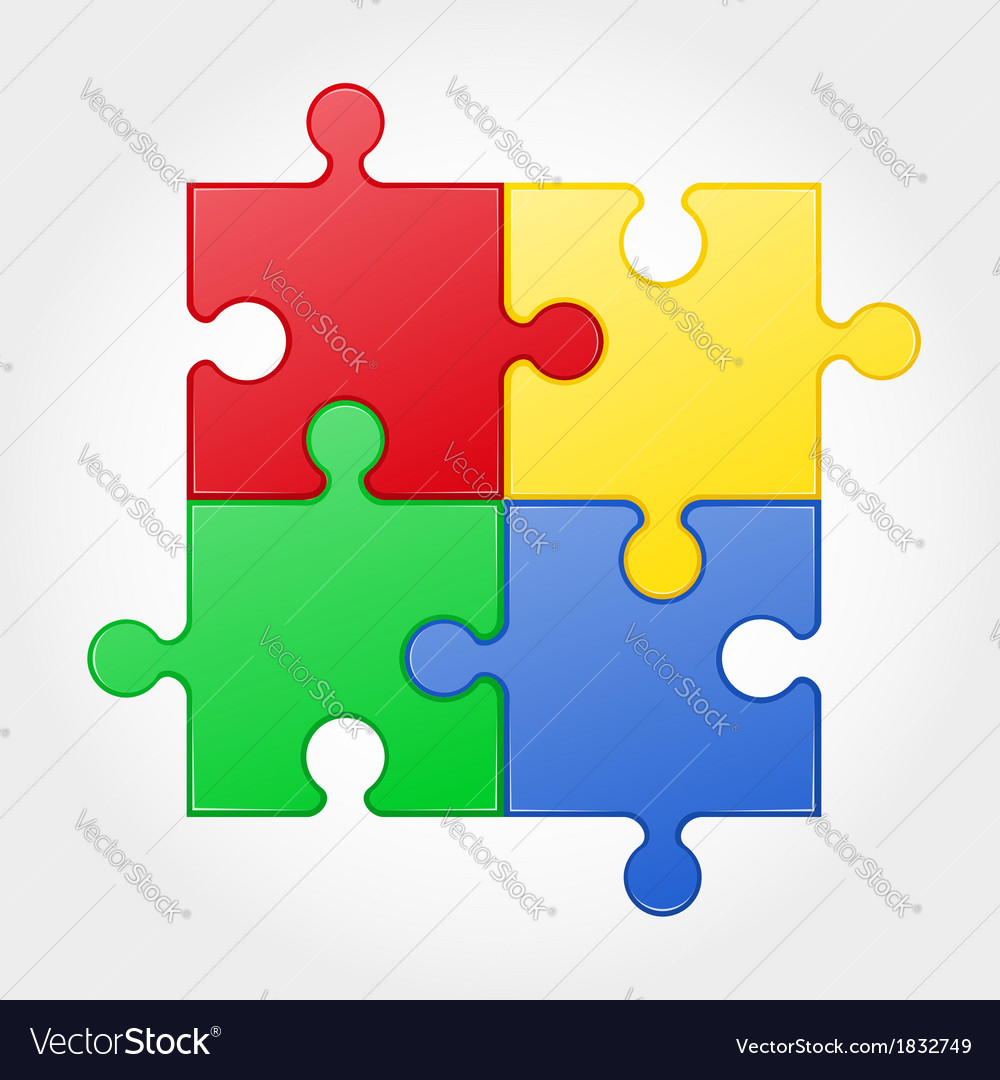 Puzzle 02 vector | Price: 1 Credit (USD $1)