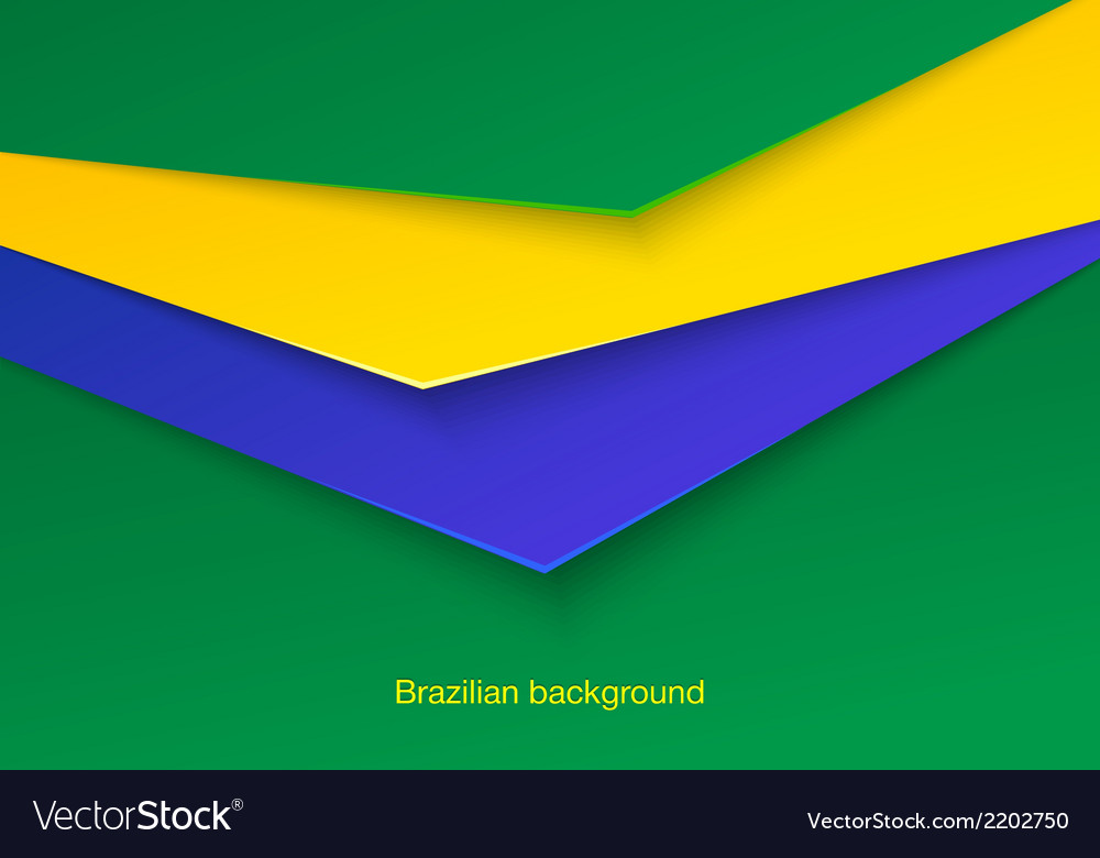 Abstract seamless brazilian background vector | Price: 1 Credit (USD $1)