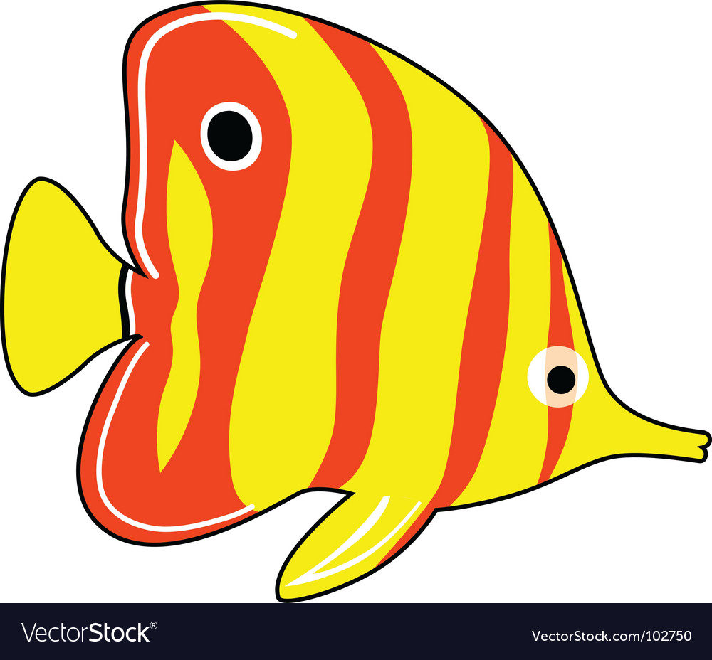 Exotic fish vector | Price: 1 Credit (USD $1)