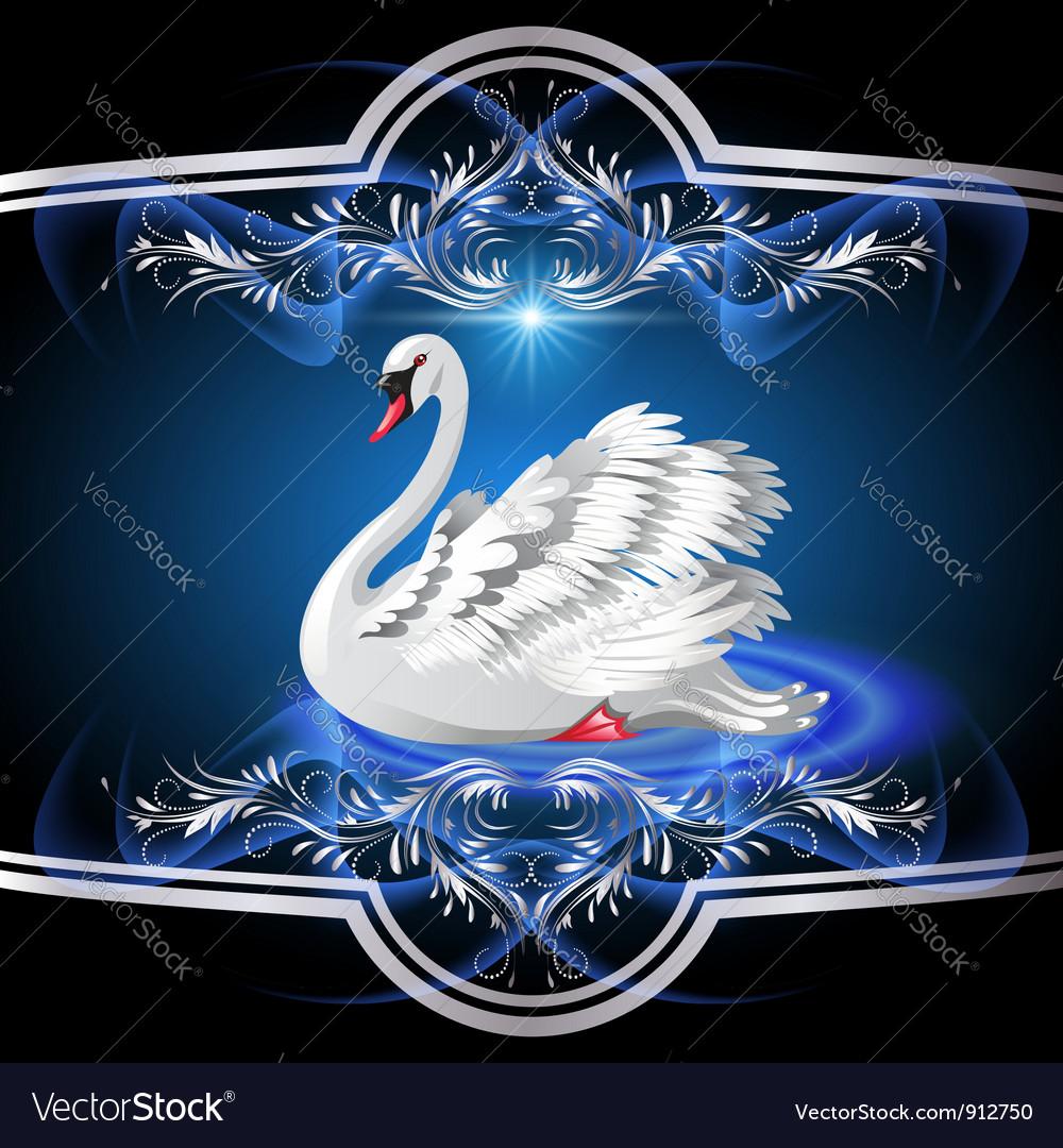 White swan vector   Price: 3 Credit (USD $3)