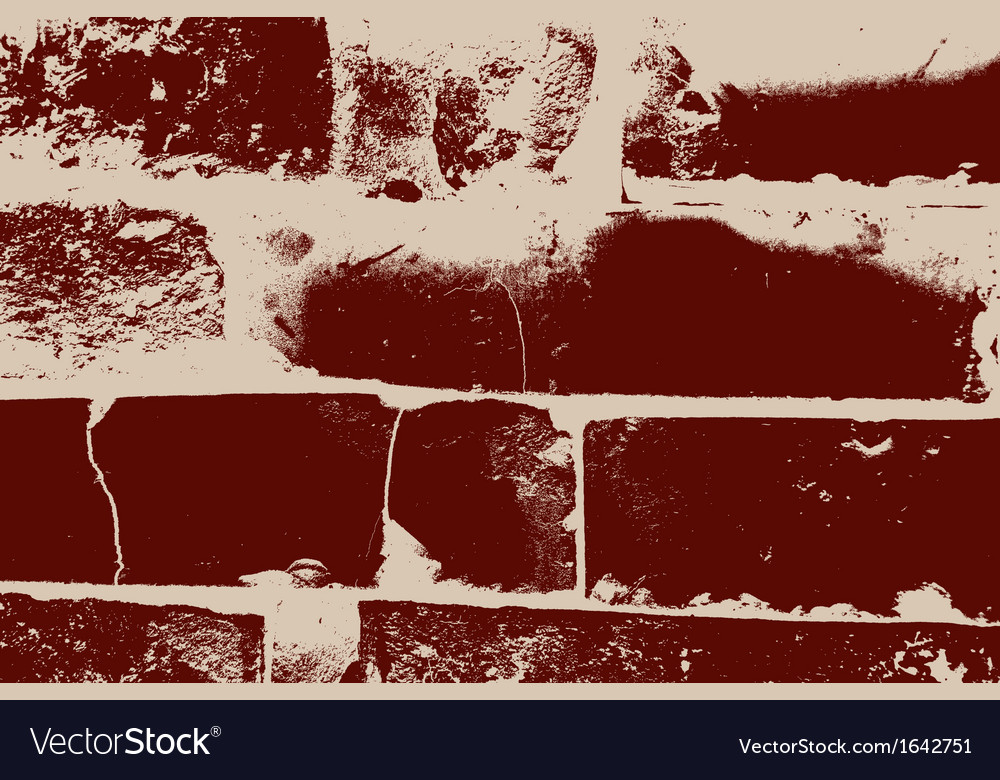 Distressed brick texture vector | Price: 1 Credit (USD $1)