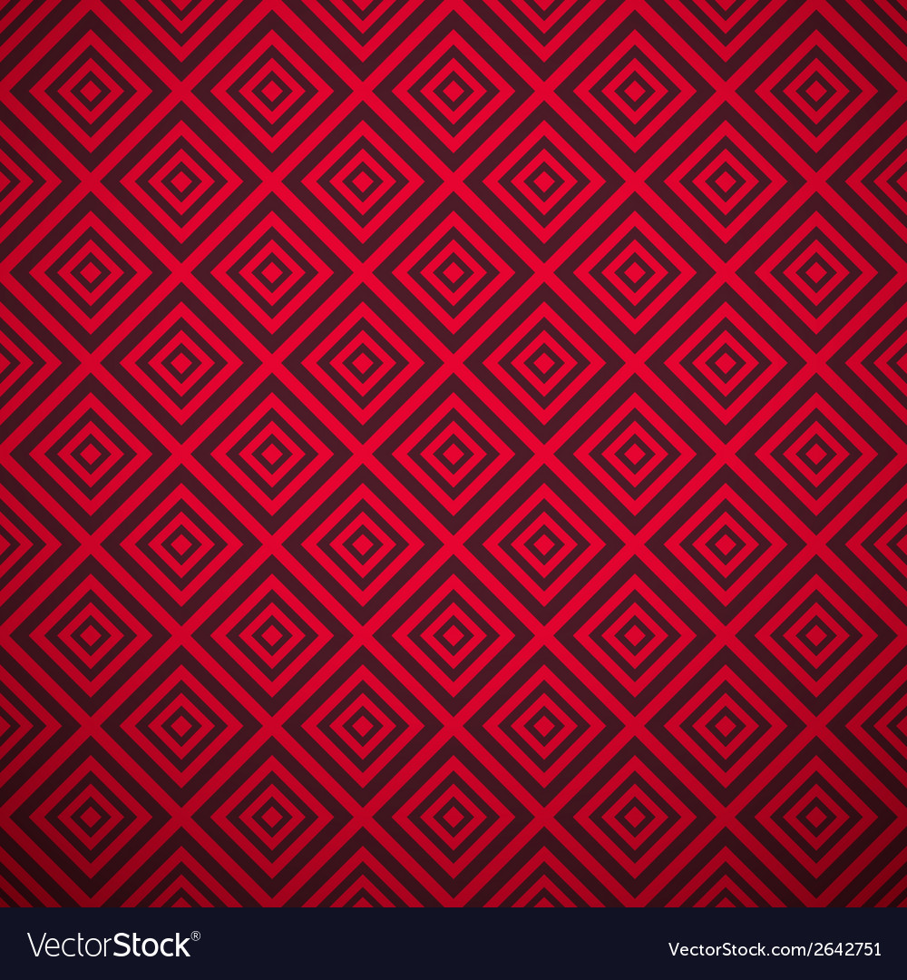 Passionate pattern tiling hot red color vector | Price: 1 Credit (USD $1)
