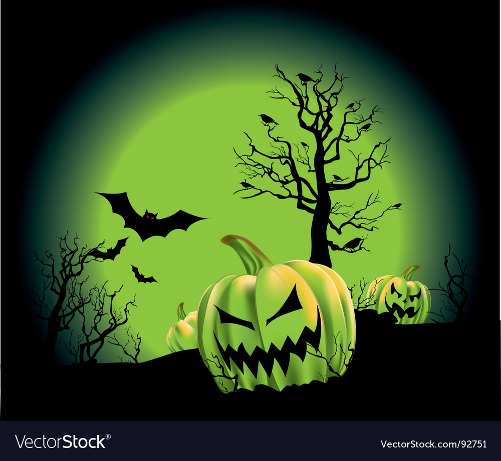 Pumpkin patch vector | Price: 1 Credit (USD $1)
