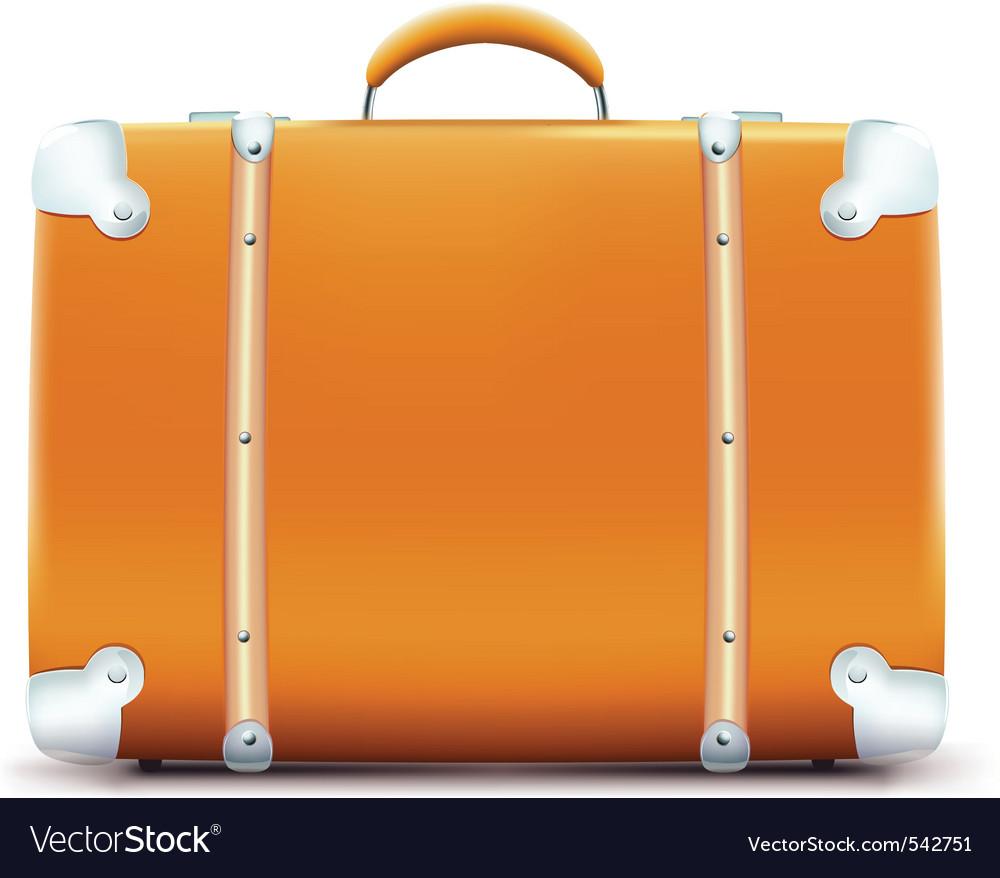 Vintage suitcase vector   Price: 1 Credit (USD $1)
