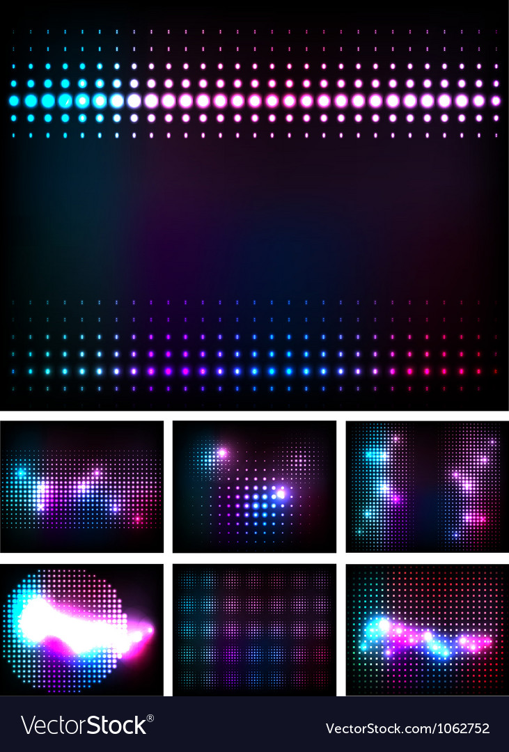 Disco lights vector | Price: 1 Credit (USD $1)