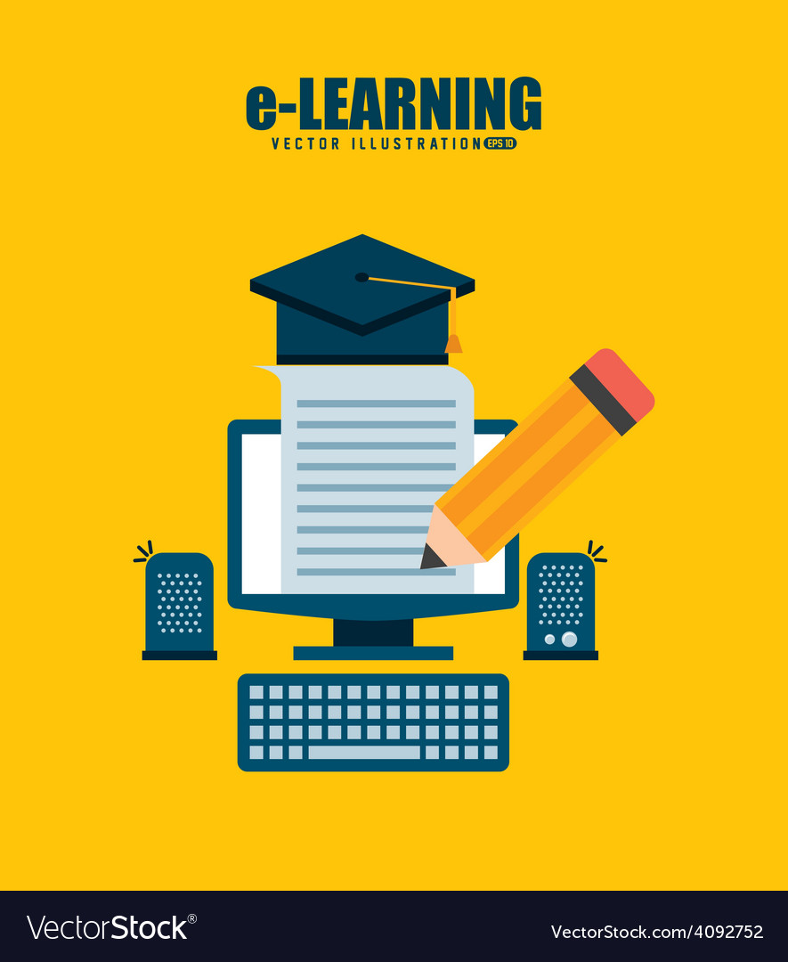 E-learning vector   Price: 1 Credit (USD $1)