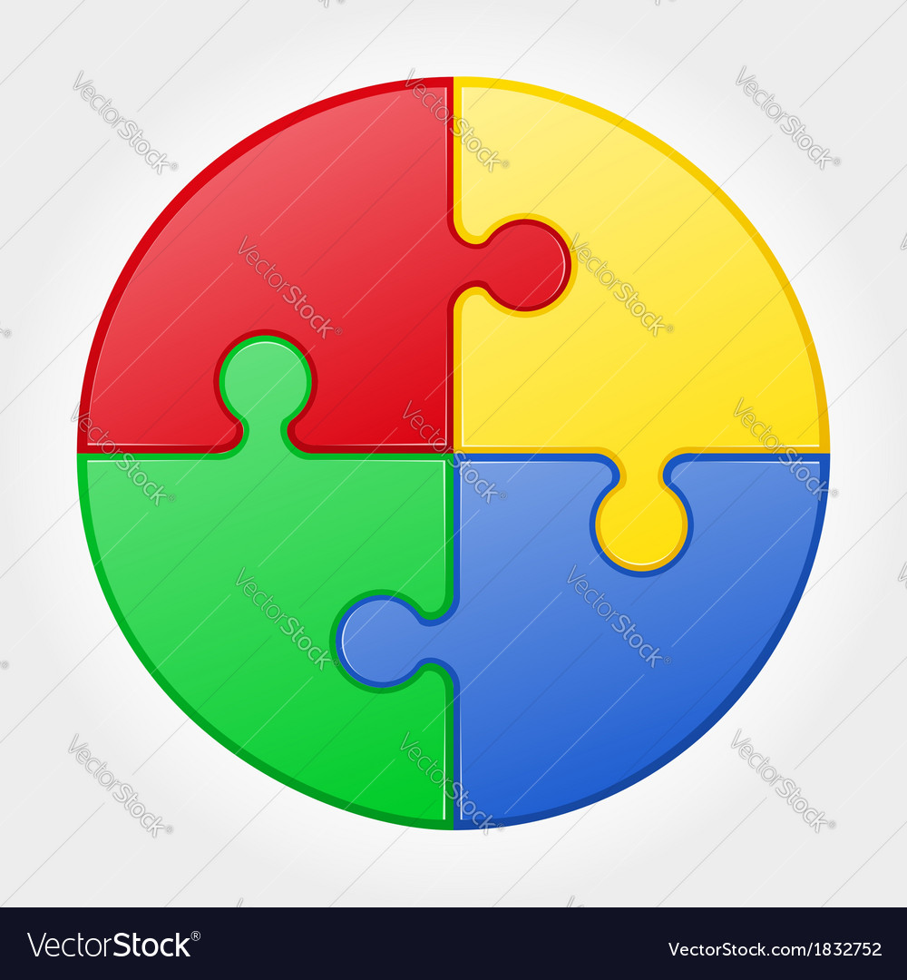 Puzzle 04 vector | Price: 1 Credit (USD $1)