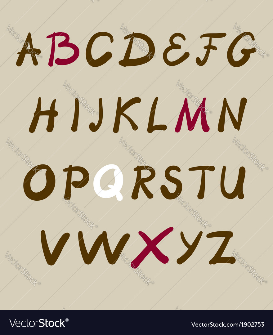 Artistic lettering vector | Price: 1 Credit (USD $1)