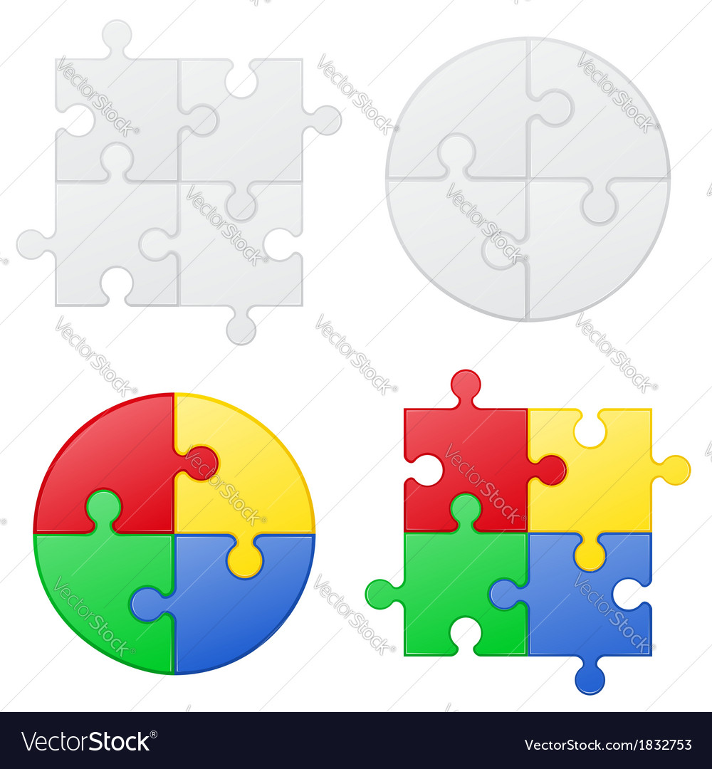 Puzzle 05 vector | Price: 1 Credit (USD $1)