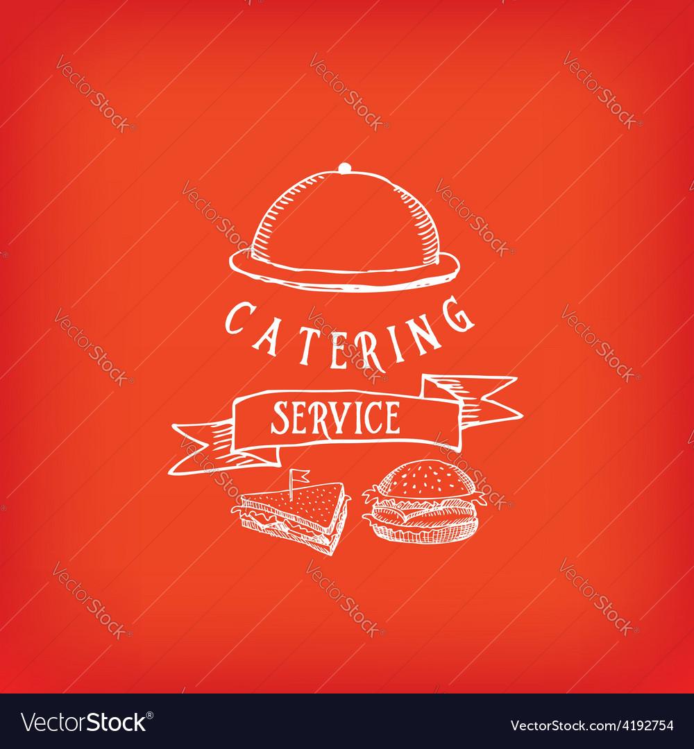 Catering service design logo vector   Price: 1 Credit (USD $1)