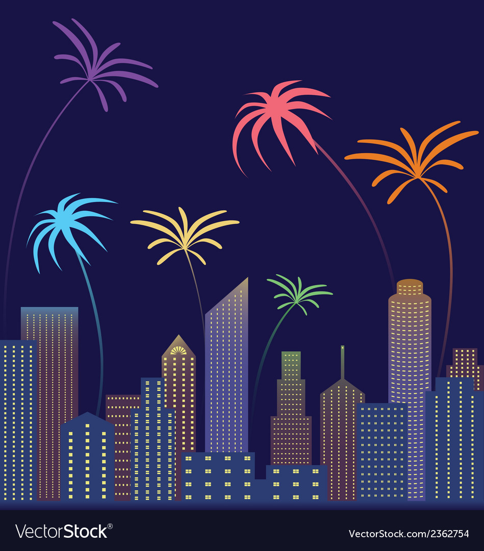 City scape vector | Price: 1 Credit (USD $1)